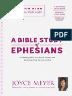 A Bible Study of Ephesians - Joyce Meyer