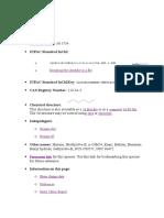 Hexane, Technical Data