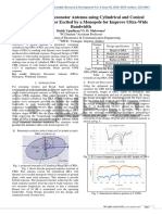 Hybrid Dielectric Resonator Antenna using cylindrical and conical shaped ring resonator excited by a monopole for improve ultra-wide bandwidth