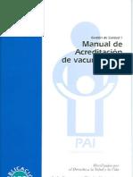 Manual de Acreditación de vacunatorios