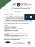 Javni Poziv Za Utvrdivanje Liste Kandidata - Decembar 2012
