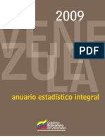 ANUARIO ESTADÍSTICO INTEGRAL 2009-Minci-web