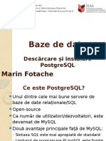 00_Descarcare Si Instalare PostgreSQL