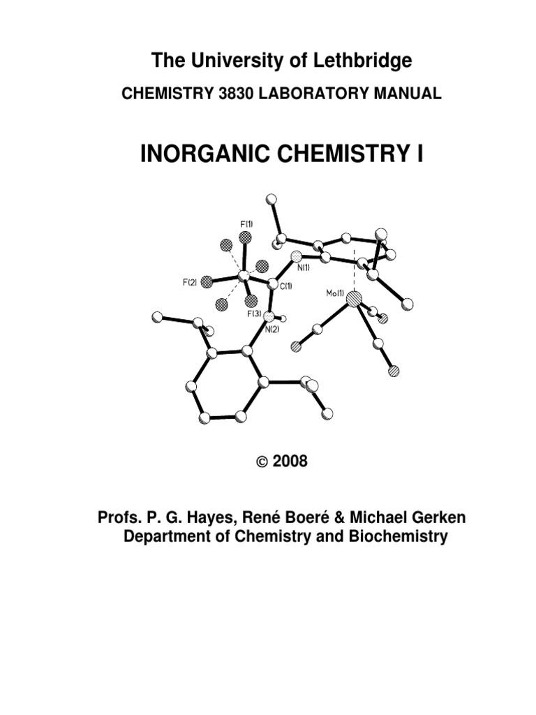 Chem 3830 Lab Manual - 2008   Filtration   Distillation