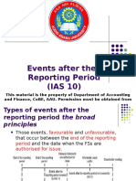 Events After the Reporting Period Final 6 Kilo.ppt