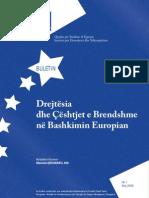 Drejtesia Dhe Qeshtjet e Mbrendshme Ne Bashkimin Evropian