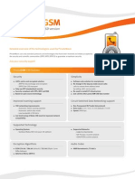 Technical Sheet - PrivateGSM CSD
