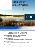 Renewable Energy Development at NYSERDA