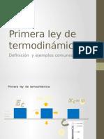 Primera Ley de Termodinámica