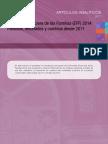 Encuesta Financiera de las Familias (EFF) 2014