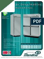 Tabla de Aplicacion Compresores y Unidades Condensadoras