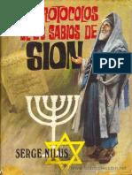 Nilus Sergei - Los Protocolos de Los Sabios de Sion