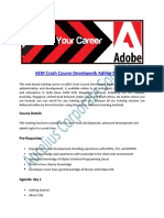 AEM Crash Course Developer & Admin Online Training & Certification