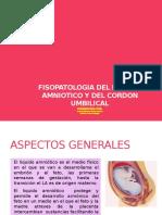 Fisopatologia Del Liquido Amniotico y Del Cordon Umbilical