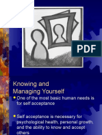 Self Acceptance -PPT