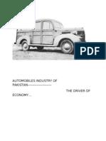 Automobiles Industry of Pakistan