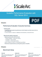 Scalearc Performance Evaluation With SQL Server 2014