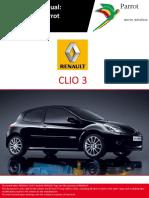 Renault Clio 3 (2006 - 2011) Parrot