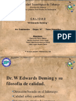 Dr. W Edwards Deming