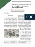Huerta de Zaragoza. Empleo y Producción Ecológica Km 0 - Olga Conde