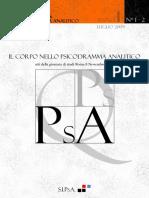 n1 Quaderni Psicoanalisi Psicodramma Analitico 2009