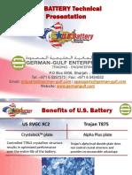 U.S. Battery Manufacturing Company - World Famous Battery - German Gulf Enterprises Ltd