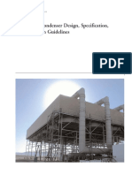 Air-Cooled Condenser Design, Specification,