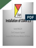 CKAN Installation & Configuration