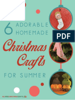 Christmas Crafts for Summer