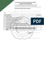 Form Pedaftaran Yudisium