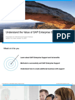 Understand the Value of SAP Enterprise Support 5.2