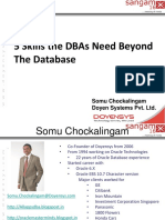5 Skills DBAs Need Beyond the Database V1.3