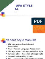 APA Style 6 5 1 2014