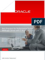Best Practices for Performance Tuning WebLogic Server With E-Business Suite 12.2.x