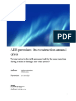 ADR Premium Its Construction Around