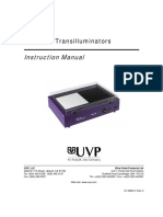 UVP Transilluminators White UV Manual
