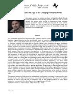 Dr. Tarit Agrawal Paper on Regional Literature