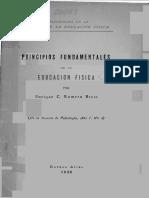 Principios de La Educacion Fisica