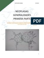 Neoplasias Parte 1 Conceptos Generales y Nomenclatura