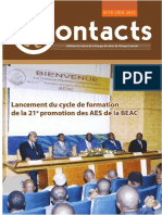 BEAC CONTACTS N°73