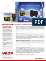 NITRO UHS I U1 MicroSD With Type C Card Reader Product Datasheet