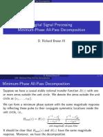 7-4minphase Allpass Decomposition