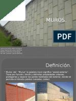 TIPOS DE MUROS.