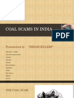 Coal Scams in India