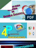Las 4P del maestro. Escuela Sabática.pdf
