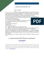 Fisco e Diritto - Corte Di Cassazione n 729 2010