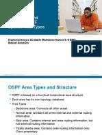 OSPF Special Erea Types