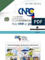 Alcances Del Nuevo Codigo de Policia en La Vsp