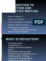 Reflective Writing b8ll100