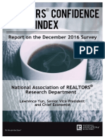 Realtors® Confidence Index December 2016